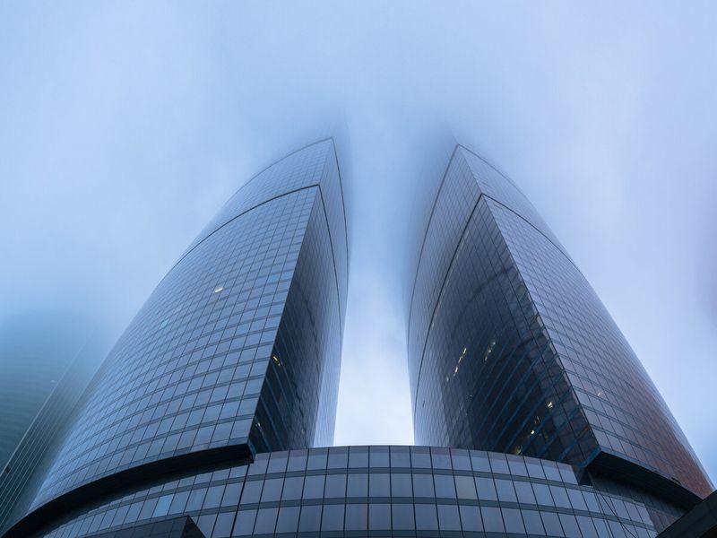 Фото Идеи стеклянной архитектуры на прогулке по Москва-Сити
