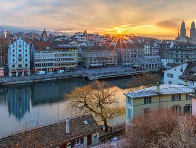 Цюрих — путешествие во времени