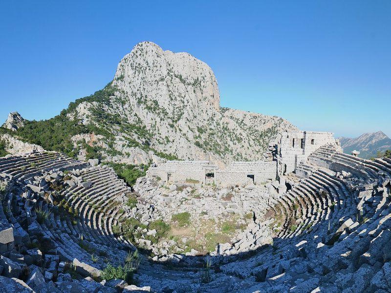 Экскурсия Живописное путешествие в древний город Термессос