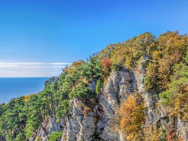 Через Орлиные скалы ипещеру— кАгурским водопадам!