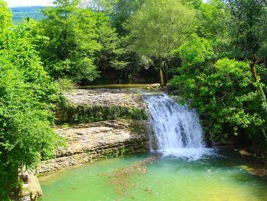 Водопады Цебельдинской долины