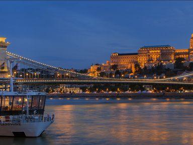 Теплоходная прогулка по Дунаю с коктейлями