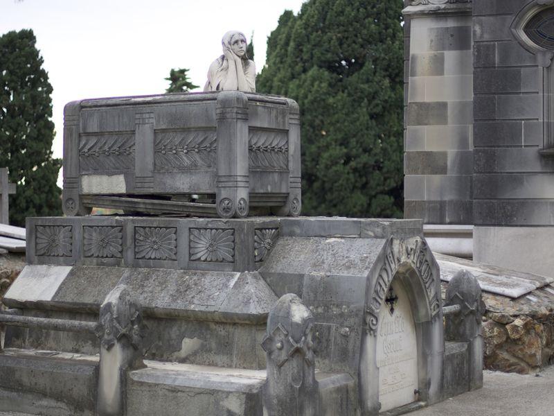 Экскурсия Город Мёртвых. Кладбище Монтжуик