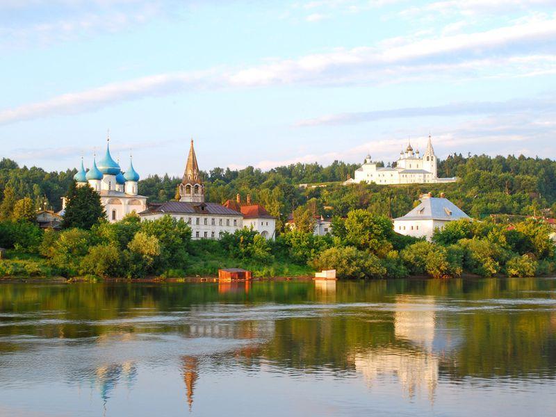 Экскурсия Из Нижнего Новгорода — в Гороховец
