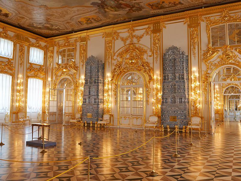 Экскурсия Царское село спосещением Екатерининского дворца