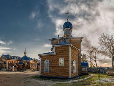Свято-Троицкий храм— поездка всело Ташла