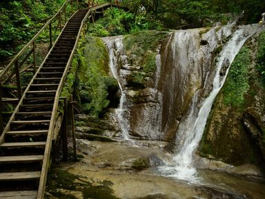 Поход к водопадам Ореховский и Ажек