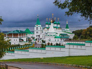 Нижегородский Печерский монастырь ипоездка поканатной дороге