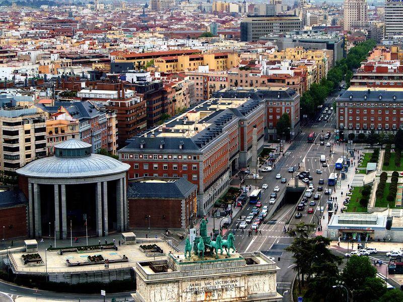 Экскурсия С небес на землю Мадрида