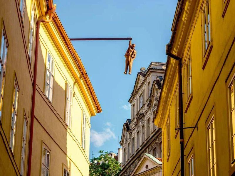 Экскурсия Творческая Прага: арт-объекты вистории