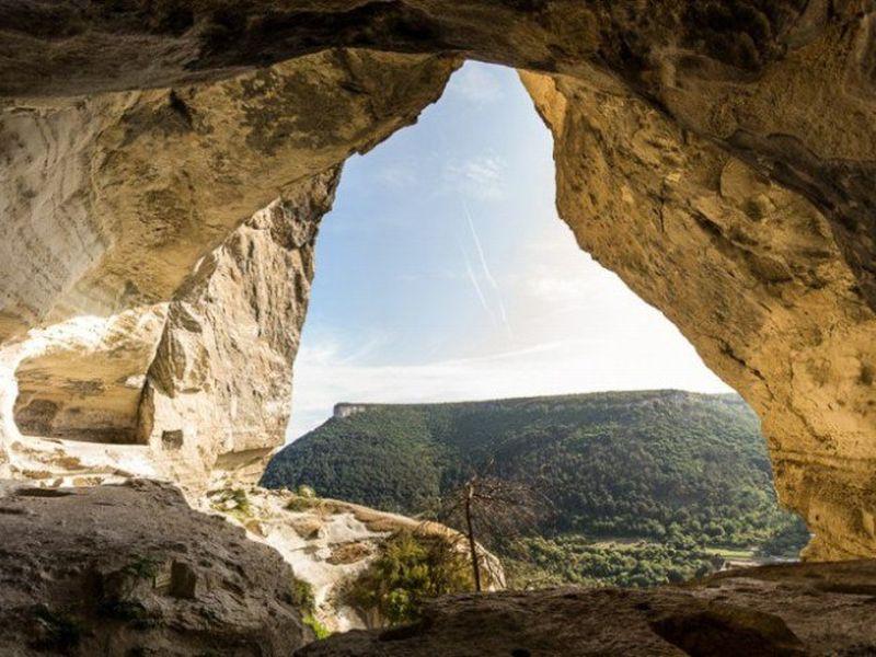 Пещерный город Качи Кальон width=