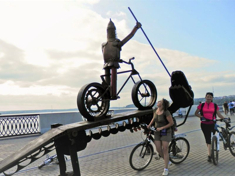Экскурсия Ижевск на велосипеде!