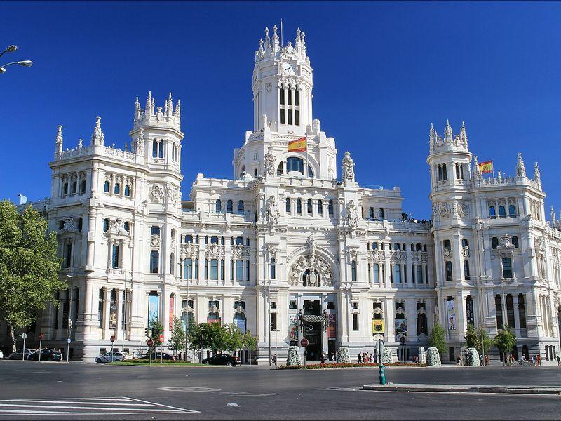 Фото С небес на землю Мадрида