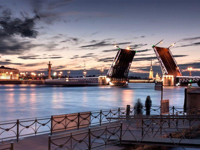 Экскурсия Романтика белых ночей и разводных мостов