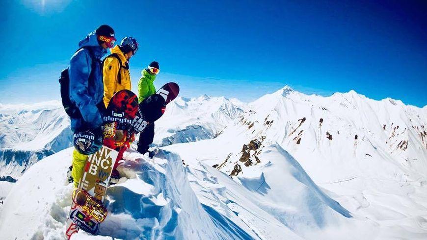 Лыжный тур в Гудаури