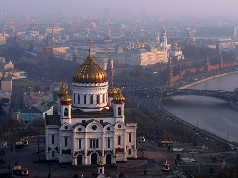 Экскурсия Храм Христа Спасителя и панорамы Москвы