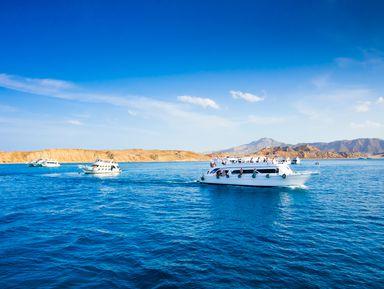Египетские Мальдивы: групповая прогулка на яхте!
