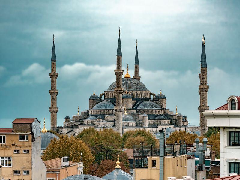 Фото Сложить мозаику Стамбула