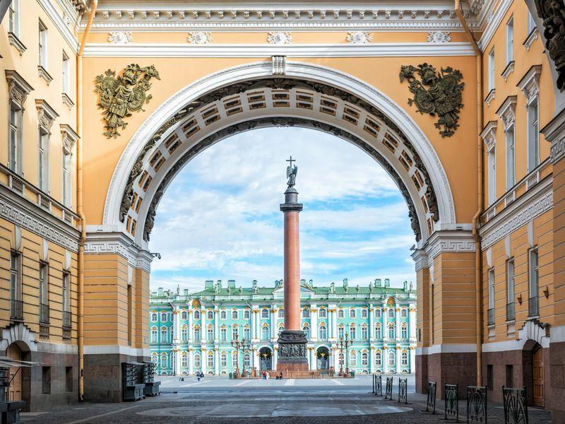 Экскурсия Весь Эрмитаж: Зимний дворец + Главный штаб
