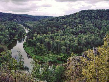 Бердские скалы, водопады иСвятой Ключ