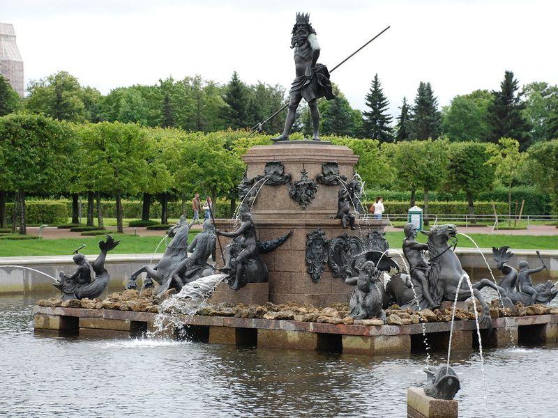 Экскурсия Петергоф — резиденция Петра Великого
