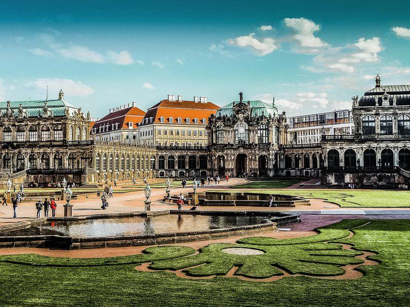 Экскурсия Пешком по старому Дрездену