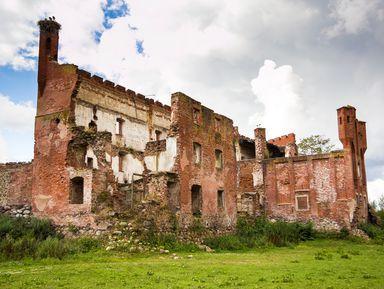 Кирхи изаброшенные замки Калининградской области