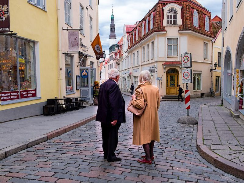 Экскурсия Романтическая прогулка по Таллину