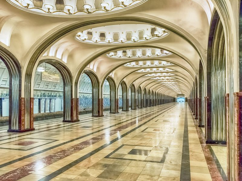 Экскурсия Московское метро: подземный храм СССР