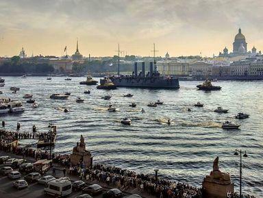 Петербург— город наводе