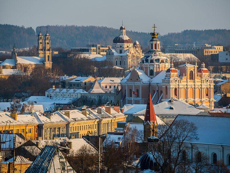 Зимняя сказка Вильнюса