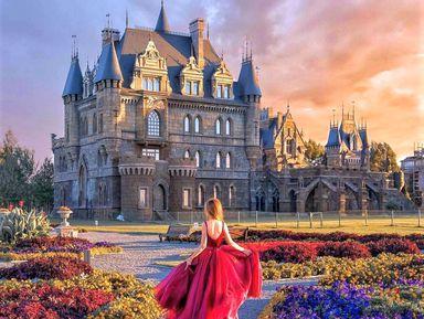 Сказочный замок Гарибальди