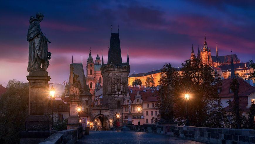 Вышеград и Пражский Град: тайны и легенды вечерней Праги