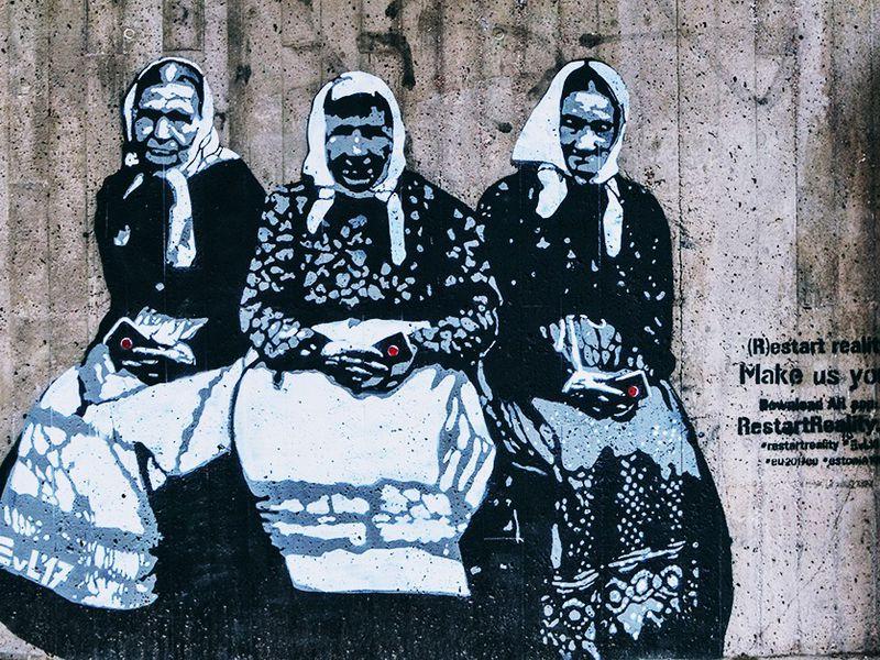 Экскурсия Уличное искусство Хельсинки