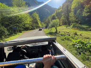 Джип-тур с пикником в Абхазию: эко-маршрут по дикой природе