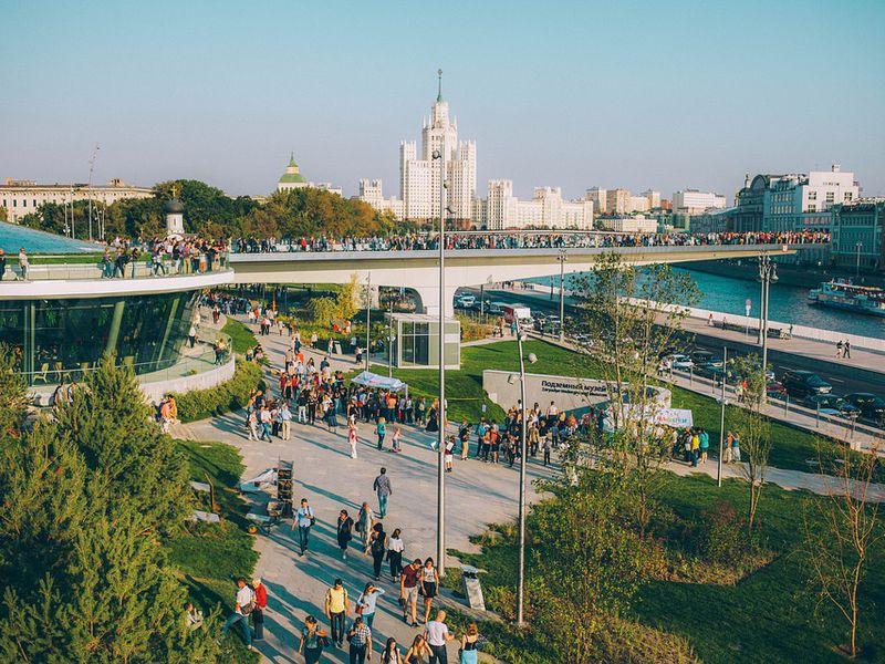 Экскурсия Москва: от Кремля до Зарядья