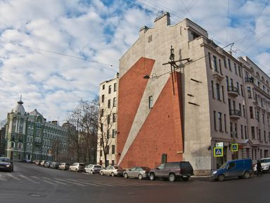 Кирпичная палитра: картины на брандмауэрах Петербурга