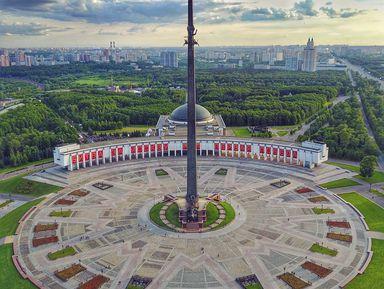 Храмы ипамятники Парка Победы