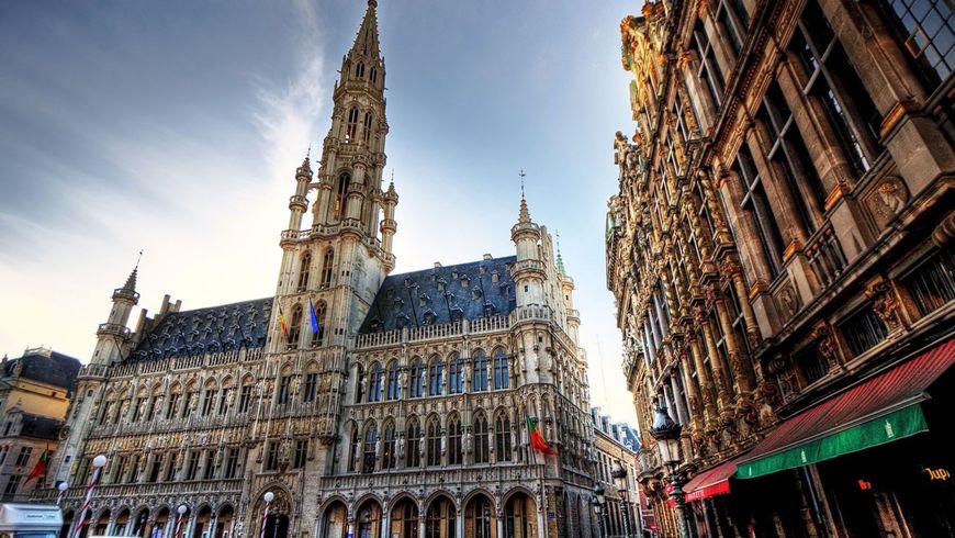 Авто-пешеходная прогулка по Брюсселю