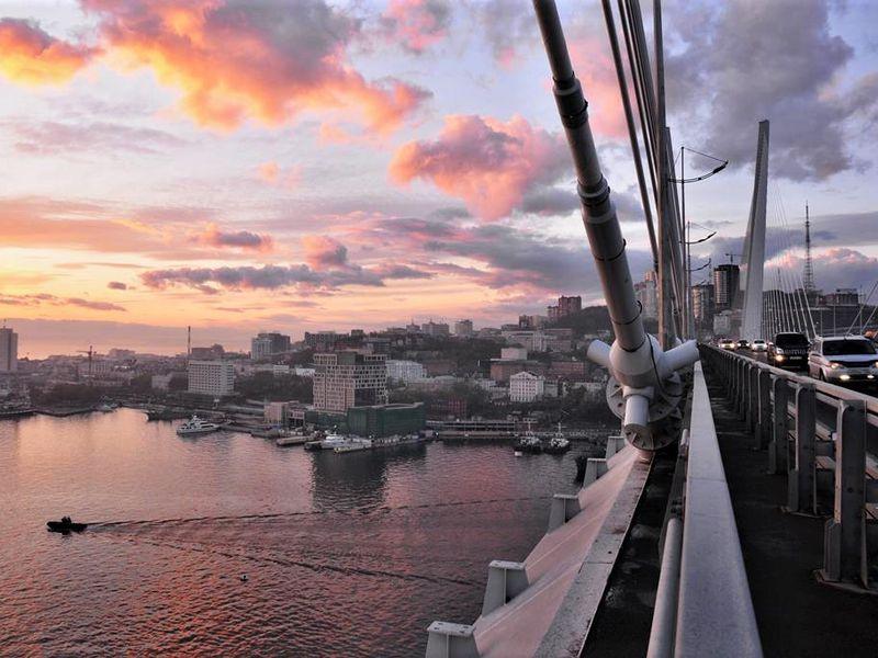 Экскурсия Владивосток на закате солнца