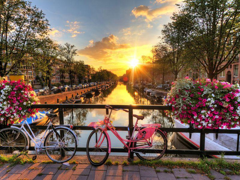 Экскурсия Влюбиться в Амстердам за один день!