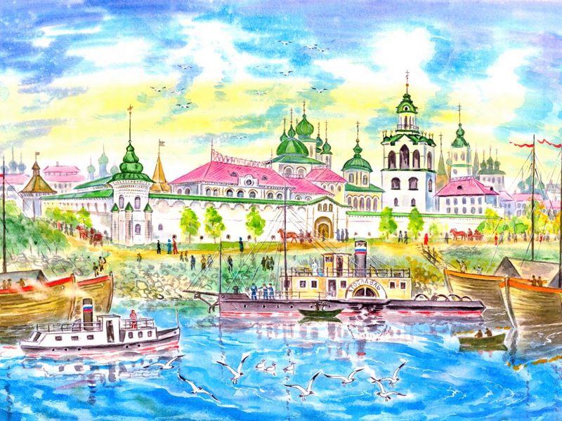 Экскурсия Семейная интерактивная прогулка по Ярославлю