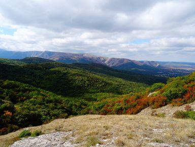 Природа и места силы горы Чатыр-Даг