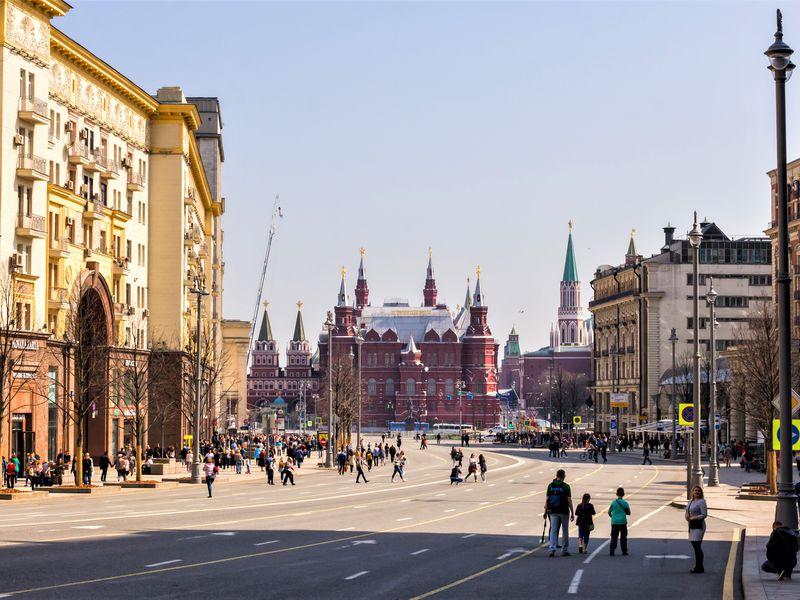 Экскурсия Экскурсия по Тверской улице для школьников