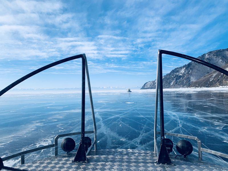Экскурсия Голубой лед Байкала