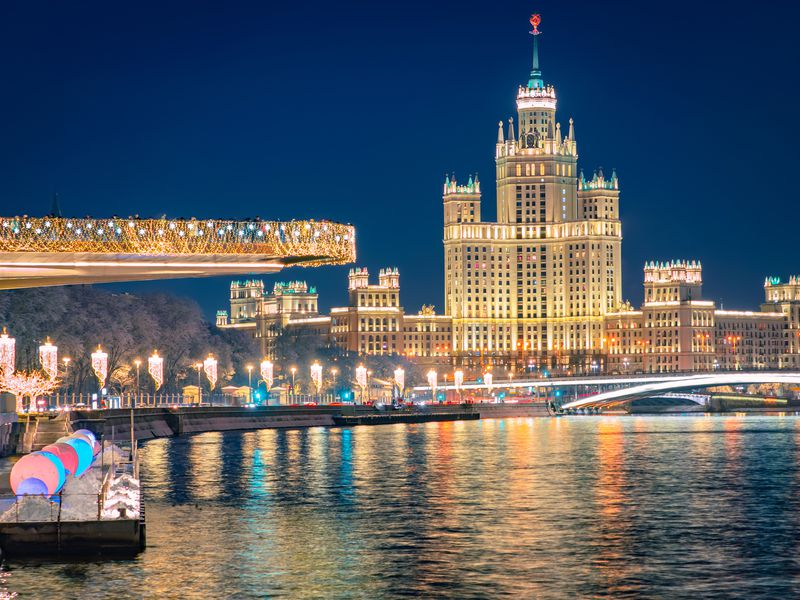 Экскурсия Москва Панорамная
