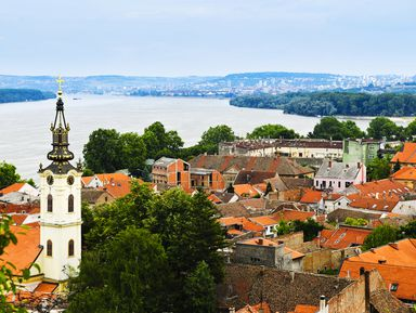 Все краски Белграда