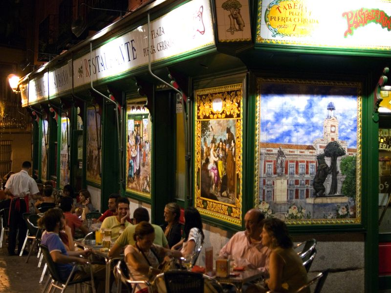 Фото Ежедневная прогулка по Мадриду