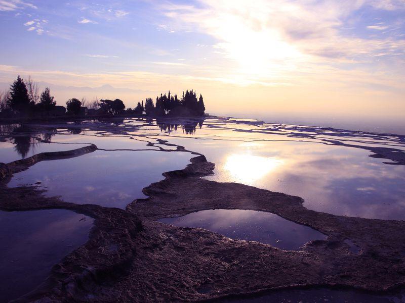 Экскурсия Памуккале и античный Иераполис