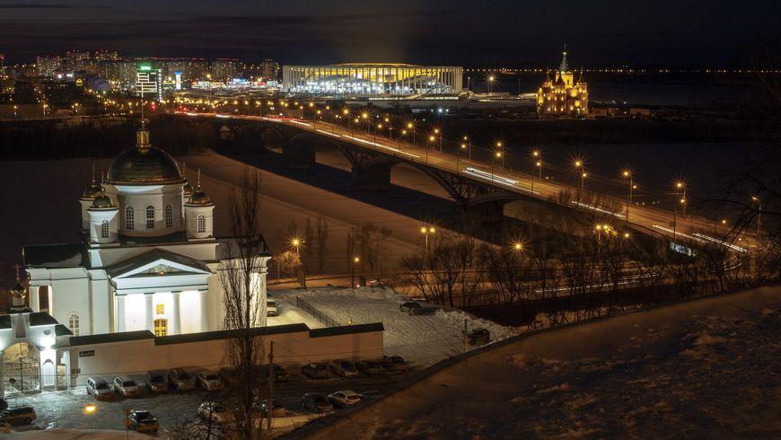 Групповая экскурсия поНижнему Новгороду вчас вечерний!